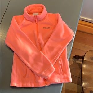 Girls Columbia fleece jacket